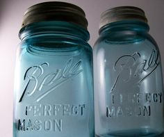 Ball Jars - first manufactured in Muncie, Indiana   and Ball State University is in Muncie