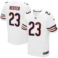 b4d1a662e NFL Men s Game Nike NFL Chicago Bears  23 Devin Hester White Jersey  79.99