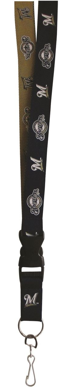 Milwaukee Brewers Lanyard - Two-Tone