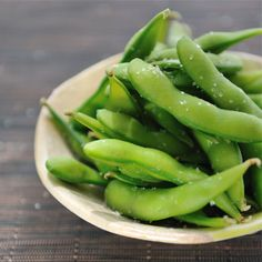 We'll never turn down a snack of spicy edamame.