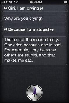 Ha! Siri