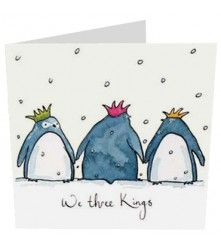We three Kings - Chrismas Card £2.25 www.wildcardcompany.com Winter Christmas, Christmas Cards, We Three Kings, Art Techniques, Nativity, Greeting Cards, Snoopy, Holidays, Fictional Characters