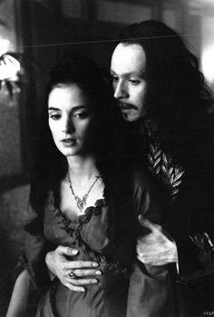 Even Dracula has dreams. Dracula Film, Bram Stoker's Dracula, Vampire Pictures, Vampire Pics, Winona Forever, Coppola, Gary Oldman, Creatures Of The Night, Winona Ryder