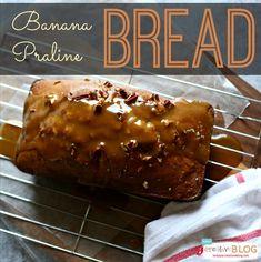 Banana Praline Bread | TodaysCreativeBlog.net