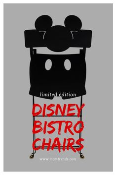 Fermob and Disney have teamed up to make this Mickey bistro chairs Cool Kids Rooms, Every Mom Needs, Bistro Chairs, Kid Spaces, Disney, How To Make, Fun, Trends, Baby