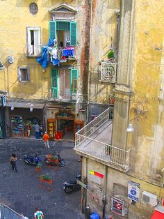 Napoli Colorata by vronnieka, via Flickr~yes, the laundry is beautiful too