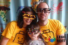 2. týždeň - O okuliaroch. Postavte si z Lega bláznivé okuliare a urobte si selfie ;)