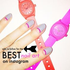 Who to follow for the best nail art on Instagram #nails #nailart