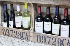 These pallet wine cr