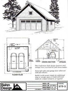 Garage Plan # 572-3