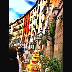 Cava baja #Madrid  - Explore the World with Travel Nerd Nici, one Country at a Time. http://TravelNerdNici.com