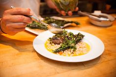 Greens, Meat and Beans! What a combo...   #boonvillehotel #table128 #prixfixe #familystyle #homestyle