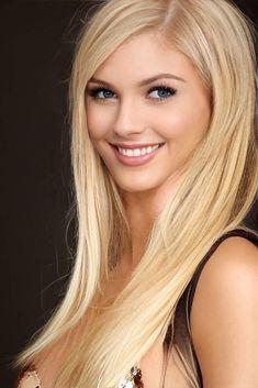 Beautiful Blonde Girl, Beautiful Girl Image, Gorgeous Women, Most Beautiful Faces, Beautiful Smile, Blonde Beauty, Hair Beauty, Woman Face, Pretty Face