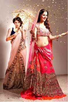 Bridal Couture :: The Pink Bride - Papa Don't Preach Indian Bridal Outfits, Indian Bridal Wear, Indian Dresses, Indian Wear, Indian Clothes, India Fashion, Asian Fashion, Ethnic Fashion, Pakistan Fashion
