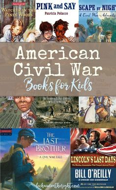 Throughout elementary and middle school, I gained a wealth of knowledge about the American Civil War. Here is a list of American Civil War books for kids! 4th Grade Social Studies, Teaching Social Studies, Teaching History, History Activities, Teaching Resources, Civil War Activities, Teaching Ideas, Teaching American History, Creative Teaching