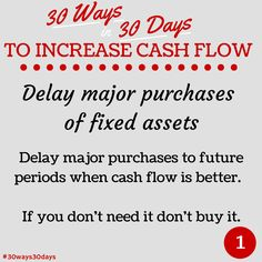 Delay major purchases #30ways30days