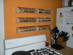 Our New Spice Racks (Thanks, Ikea!) | Flickr - Photo Sharing!