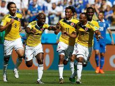 Este es el gol 15 de #Colombia en el Mundial.