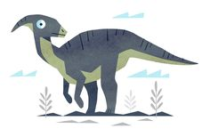 Parasaurolophus The Good Dinosaur, Dinosaur Art, Dinosaur Illustration, Graphic Illustration, Indominus, Jurassic Park, Dragons, Art Articles, Prehistoric Animals