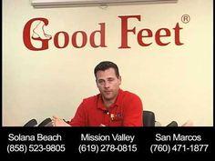 \n        Foot Pain, Back Pain and Plantar Fasciitis Relief - Metatarsal Foot Pain -- Good Feet San Diego\n      - YouTube\n