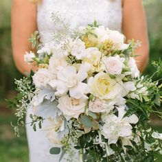 Blush and Cream Bridal Bouquet // Danielle Capito Photography // http://www.theknot.com/weddings/album/a-vintage-fall-wedding-in-alamos-ca-140122