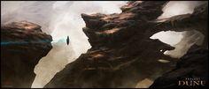 Desert Rocks /by Mark Molnar #concept #art #SciFi #Dune