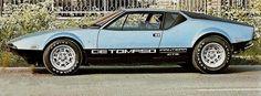 1970 De Tomaso Panterra