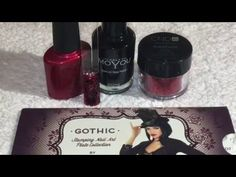 Black & Red Glitter Roses Valentines Nail Art Tutorial - http://47beauty.com/nails/index.php/2016/10/29/black-red-glitter-roses-valentines-nail-art-tutorial/  http://47beauty.com/nails/index.php/nail-art-designs-products/  ❤️ Black & Red Glitter Roses Nail Art❤️ Products used – CND Shellac Red Baroness, CND Additives Wine Red Glitter, Moyou Nails Black Stamping polish & Moyou London Gothic 07 Stamping Plate.  All the products used I have purchased