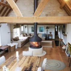 home fireplace ~ home fireplace . home fireplace modern . home fireplace rustic . home fireplace ideas . home fireplace with tv . home fireplace stone . home fireplace luxury . home fireplace cozy House Design, Barn Conversion Interiors, Home, Home Fireplace, Fireplace Design, House Plans, House Inspiration, House Interior, Rustic House