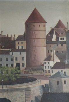 H. Tirquit (?) | Vue de Semur-en-Auxois I Daguerre
