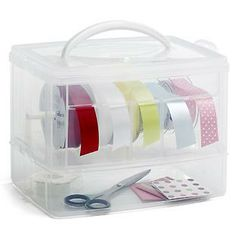 The Container Store > Snap 'n Stack™ Ribbon Dispenser