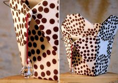 Lovely. Another sweet handmade reused materials handbag.   LaTallarines by Alejandra Vargas Díaz, via Behance
