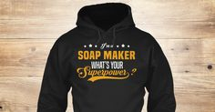 Discover Soap Maker Sweatshirt from I Love My Job, a custom product made just for you by Teespring. With world-class production and customer support, your satisfaction is guaranteed.