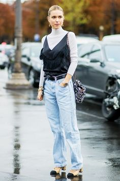 The Prettiest Layering Combination Everyone's Wearing via @WhoWhatWear