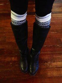 PolishedandPink: How to: DIY boot socks