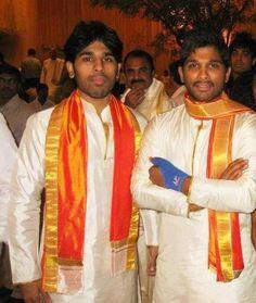 Allu Arjun & his brother