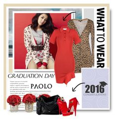 """""""Graduation dress, shoes and bag - Paoloshoes.com"""" by paoloshoes ❤ liked on Polyvore featuring Morgan De Toi, STELLA McCARTNEY, Kiyonna and Paolo Shoes"""