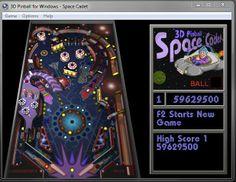 Computer pinball games