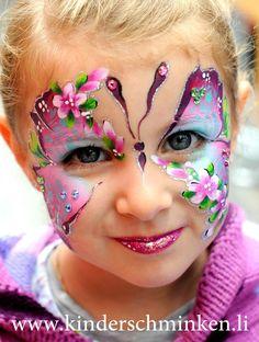 Arbeitsplatz - Sparkling Faces. Kinderschminken. Farbenverkauf. Kurse.