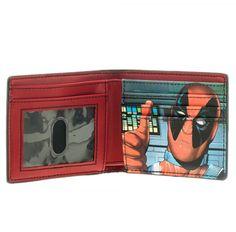 Deadpool: Mask Bi-Fold Wallet