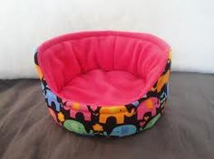 This is the fist guinea pigs bed for the igloo
