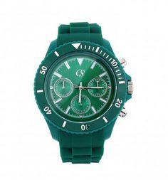 9e582b927c6 Carmen Steffens - Relógio Analógico Feminino Verde. Por 499
