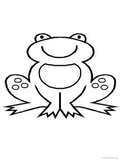 Frog Template. Have students cut out, decorate, and then