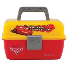 Shakespeare Cars Tackle Box  #fishing #gifts