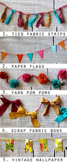 DIY Garlands Más