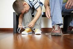 learning to tie shoes - Google Search