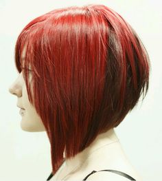 Maybe someday...for now, keeping my long red angled bob.