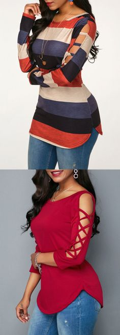 Find the broadest number of females' tops, and grab fashionable your desired look. Curvy Fashion, Look Fashion, Fashion Outfits, Womens Fashion, Casual Skirt Outfits, Fall Outfits, Cute Outfits, Trendy Tops For Women, Elegant Outfit