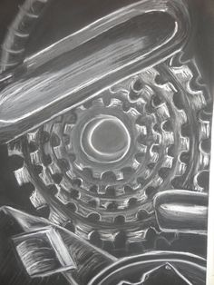mechanical forms - Google Search Art Alevel, Tom Parker, Gcse Art, Book 1, Still Life, Madness, Bicycle, Organic, Contemporary