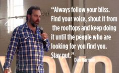 Dan Harmon Quote Dan Harmon: Monetizing the Internet Will Be the End of It For Us